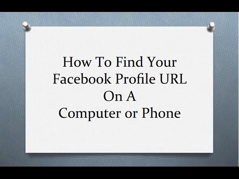 How do i send my facebook profile link