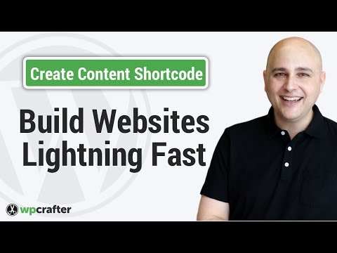 How To Create Custom Content Shortcodes To Make Website Setup & Changes Faster