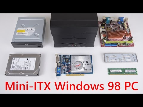 Building a Mini ITX Retro Gaming PC running Windows 98