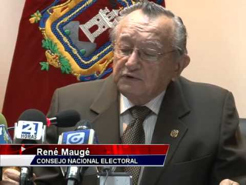 Fuerte cruce de palabras entre René Maugé y Jorge Acosta