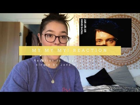 "REACTING TO ""MY MY MY!"" BY TROYE SIVAN"