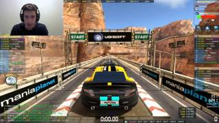 Trackmania 2 Canyon Gameplay: Online Multiplayer - Playing For Fun! #2