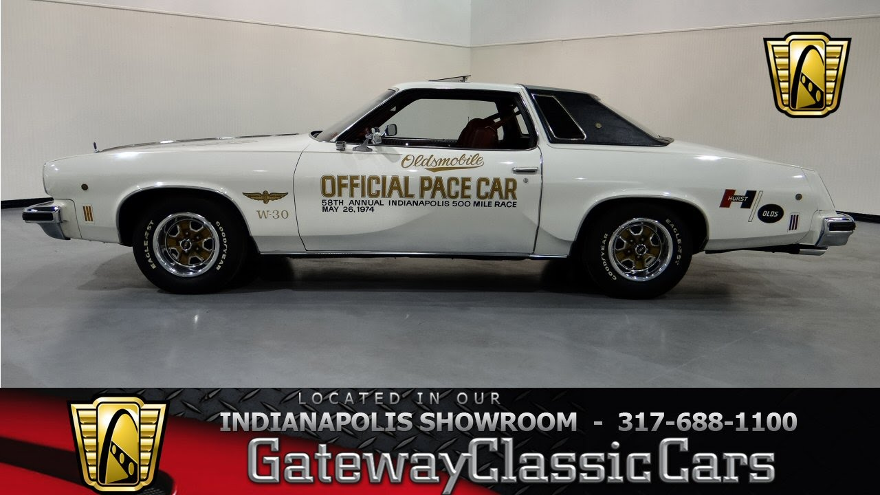 1974 oldsmobile cutlass salon w30 pace car gateway for 1974 oldsmobile cutlass salon