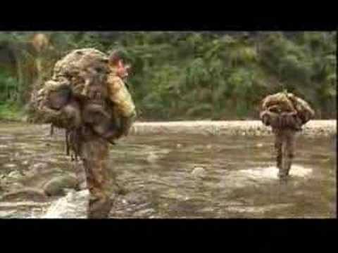 Australian soldiers at east timor and Solomon Islands