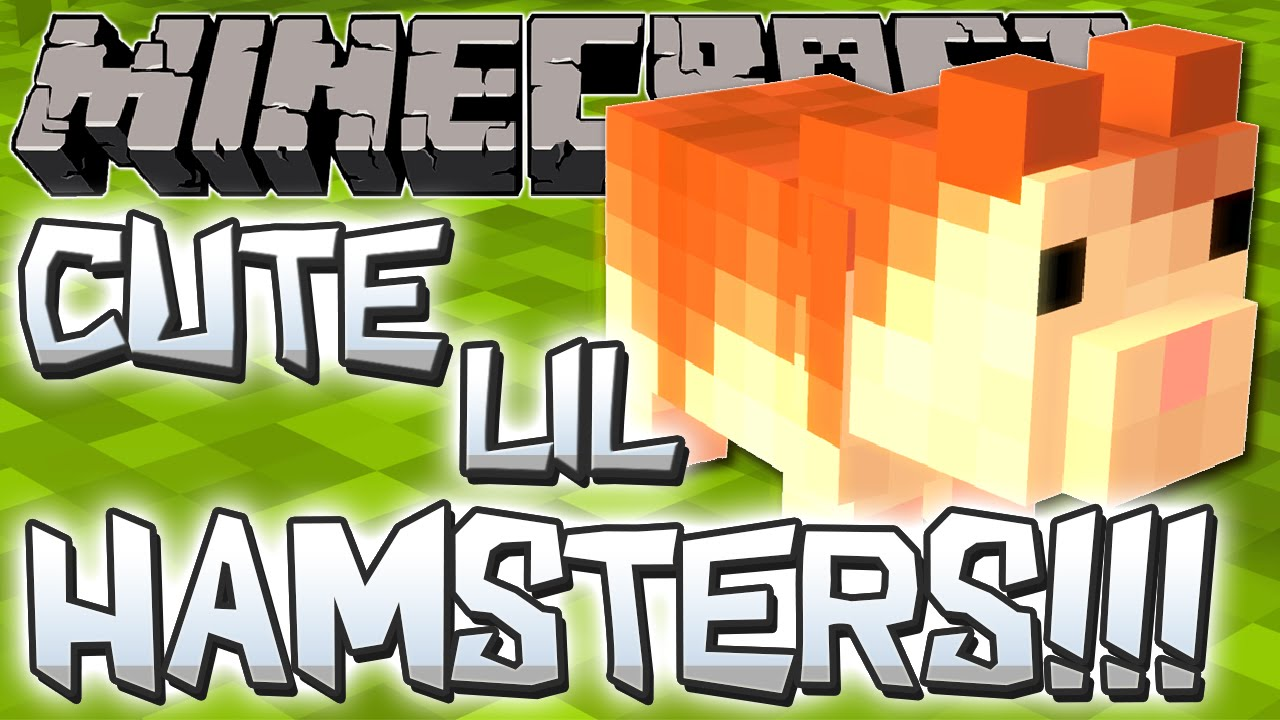 minecraft mods adorable hamsters hamsteriffic mod minecraft