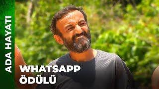 Survivorda WhatsApp Ödülü  Survivor Ünlüler Gönüllüler