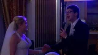 Жених поет невесте песню посвящение на свадьбе