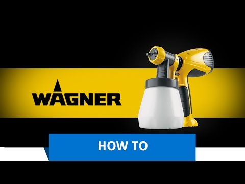 Wagner Paint Sprayer- How to spray a wooden storage coffee table with varnish