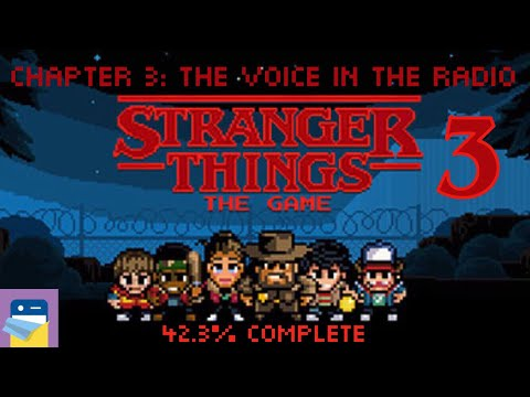 Stranger Things The Game: Chapter 3 The Voice in the Radio Walkthrough &  iOS Gameplay (by BonusXP)