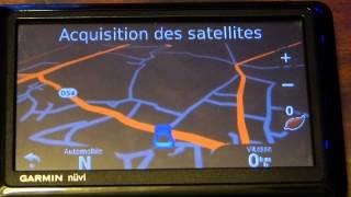 Test du GPS Garmin nüvi 1490t Europe en Français