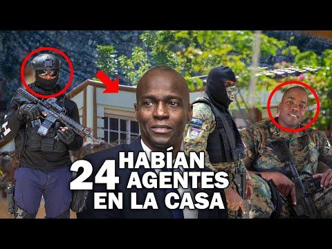 Mira habían 24 agentes de seguridad en la casa de Jovenel Moïse y aun así lo mataron!!!