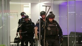 NYPD Action: ESU Arrests Barricaded Man