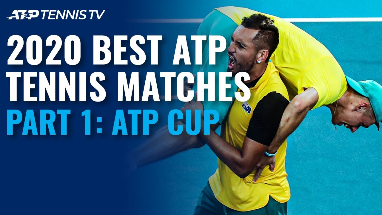 Best Atp Tennis Matches In 2020 Part 1 Atp Cup Youtube