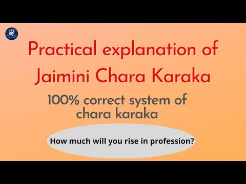 Jaimini Chara Karaka   Position in Profession?   100% Accurate Methodology   Aaskplanets Astrology