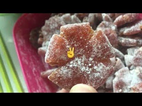 桔餅 ~ 桔餅手工製作