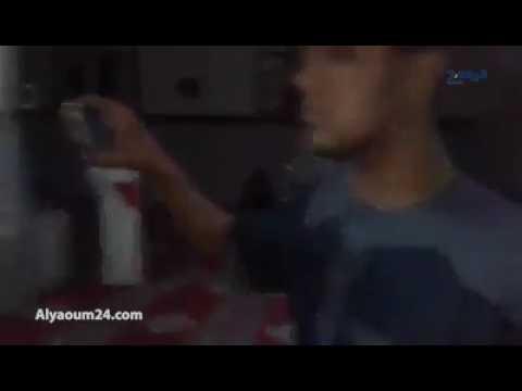 لحظة إخراج المعتكفين من مسجد الصفة بوجدة