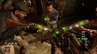 Mob of the Dead: How To Get 4 BlunderGats and 4 Death Machines. Each Person Gets 1. BO2 Zombies.
