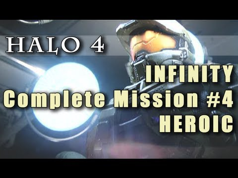 Halo 4 Mission 4 Infinity On Heroic Youtube