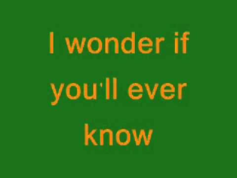 What I Really Meant To Say - Cyndi Thomson - Lyrics