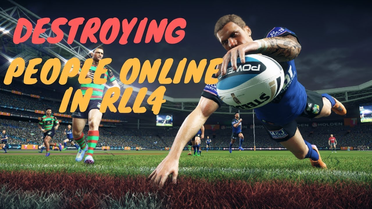 Destroying Gamers Online - Rugby League Live 4