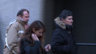 Parents of murdered French nanny leave court