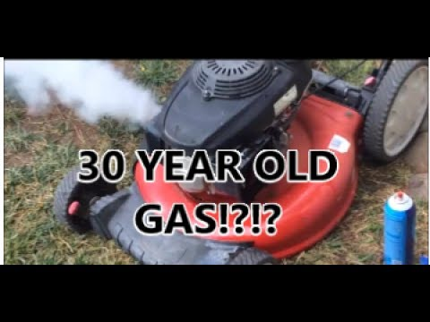 Can Old Gas be Used? | Old Gasoline Test