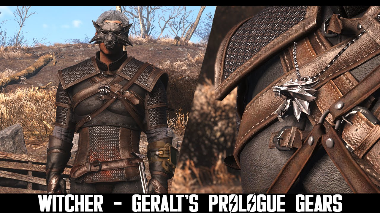 Fallout 4' Mod Adds Authentic 'Witcher 3' Monster Hunting