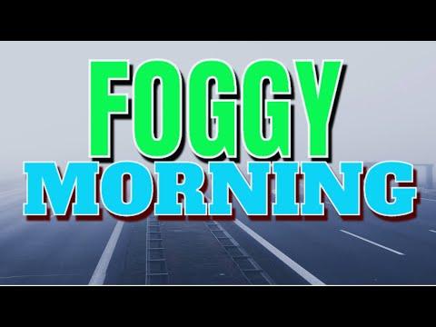 foggy morning dammam-khobar area