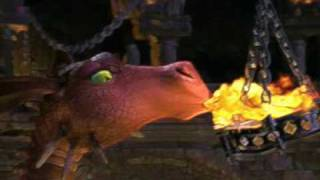 Shrek 1 Dragon Scene