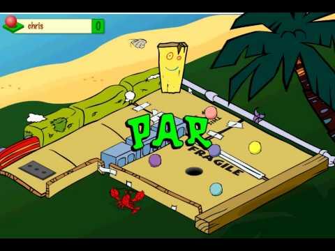 Gratis minigolf spel