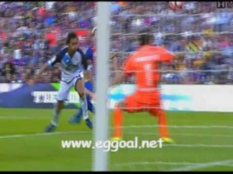 اهداف مباراة برشلونة و ديبورتيفو لاكورونا |  الدورى الاسبانى,