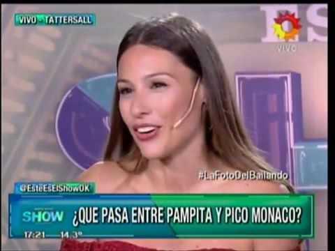 La increíble respuesta de Pampita cuando le preguntaron por las fotos con Pico Mónaco