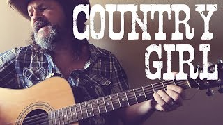 Cover of 'Country Girl' by Crosby, Stills, Nash & Young