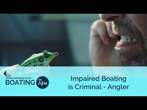 Impaired Boating is Criminal - Angler