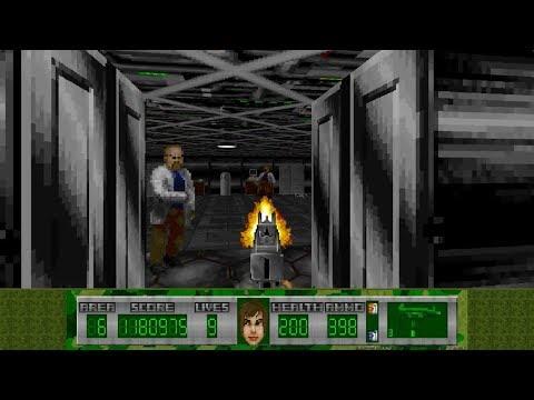 Operation Serpent for Wolfenstein 3D - Level 6: Underground Lab