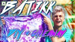 Slik får du SJUKE KLÆR med batikk/tie dye! + STOR GIVEAWAY!!