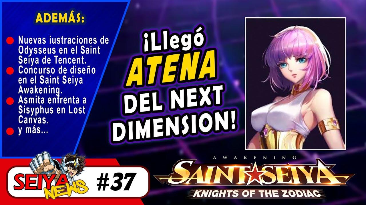 [SeiyaNews #37] ¡LLEGÓ ATENA DEL NEXT DIMENSION AL SAINT SEIYA DE TENCENT!