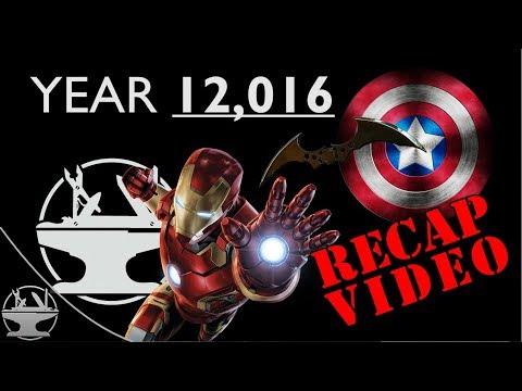Year 12,016 Has Been Busy! (Hacksmith Recap)