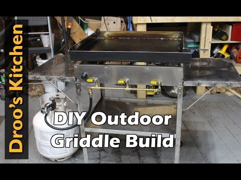 How to Make an Outdoor Griddle - DIY
