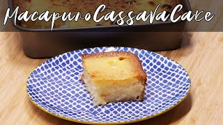 Macapuno Cassava Cake Super Easy Recipe