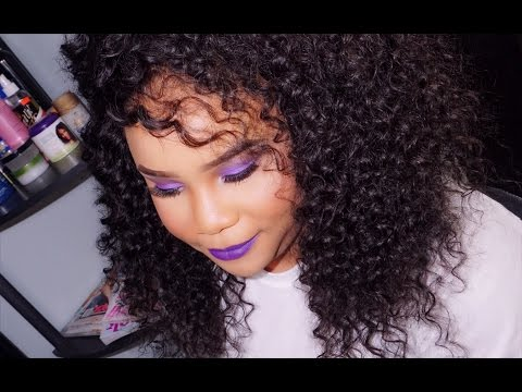 full-sew-in-weave-curly-hair-start-to-finish