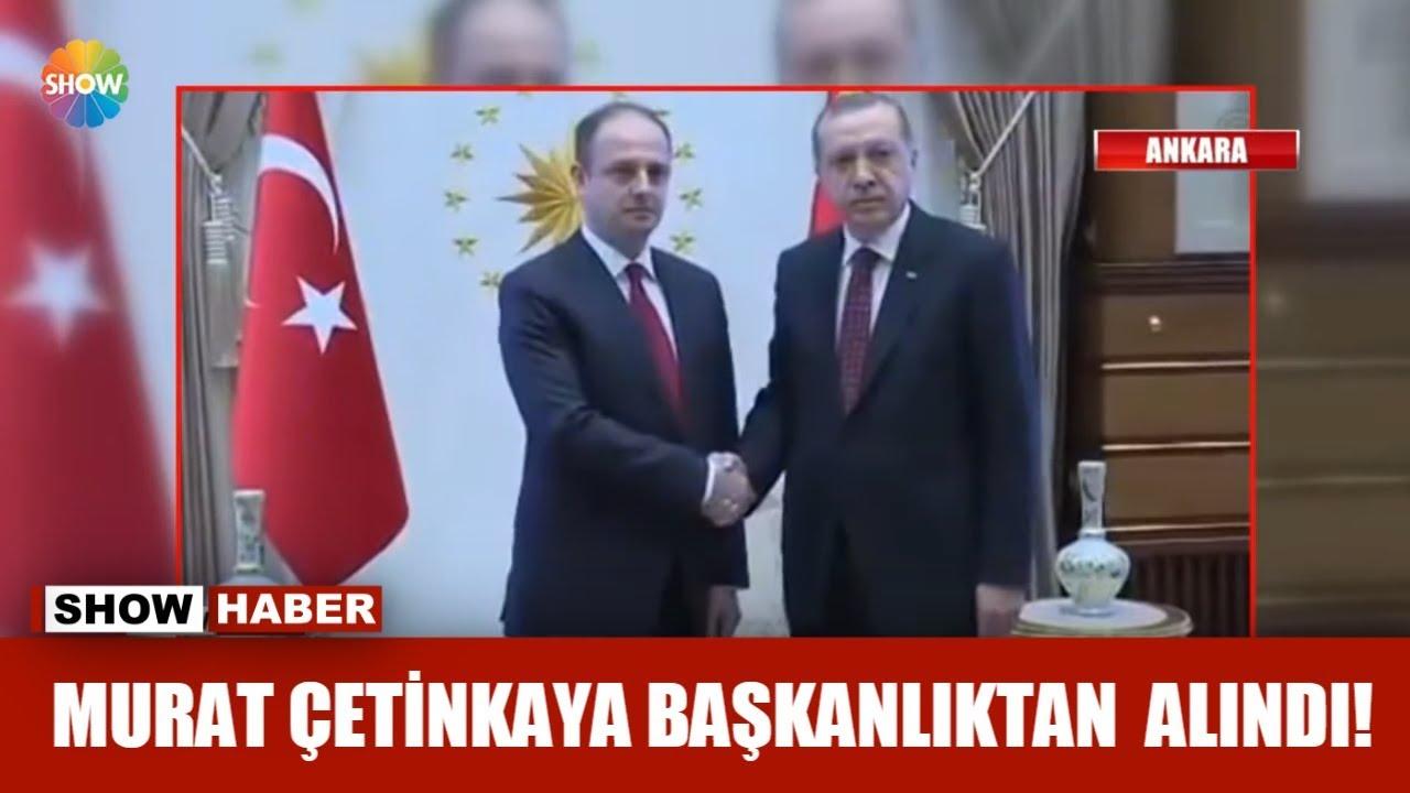 Murat Çetinkaya başkanlıktan alındı!