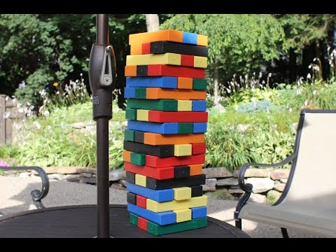 Build Your Own Giant Jenga Game