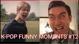 K-POP FUNNY MOMENTS PART 12 (TRY TO NOT LAUGH CHALLENGE)