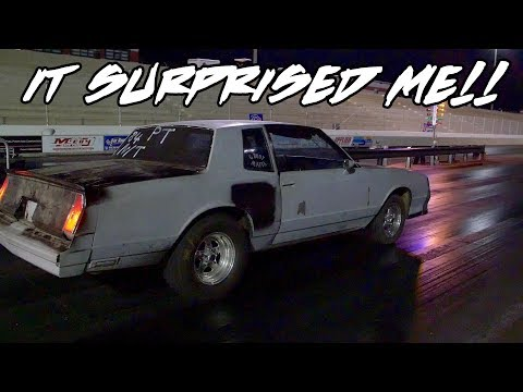 NOW THIS MONTE CARLO SS REALLY SURPRISED ME AT THE END OF THE NIGHT!! THE NITROUS WORKS!