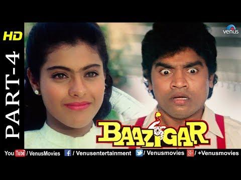 Baazigar - Part 4 | HD Movie | Shahrukh Khan, Kajol, Shilpa Shetty | Best Comedy Scenes