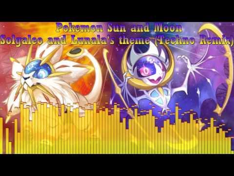Pokemon Sun and Moon Solgaleo and Lunala's Theme (Techno Remix)