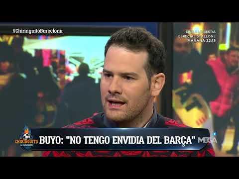 "Quim Domènech: ""Me entusiasma este Barça. Huele a TRIPLETE""."