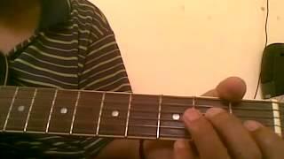 Sason ki zarurat hai jaise - MOVIE ASHIQUE (Learn guitar tabs in just 2 minutes)