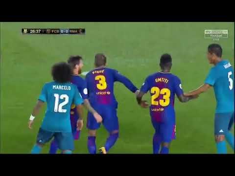 HAND BALL FROM PIQUE Rm vs FCB thumbnail